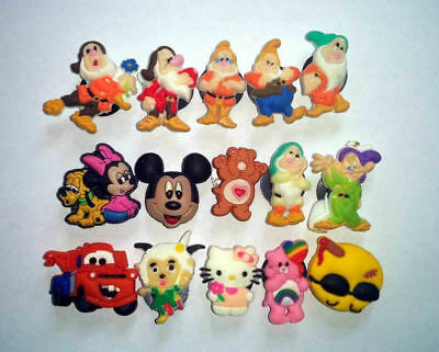 New 15Pcs Different Style& Care Bear Shoe Charms Fit Jibbitz