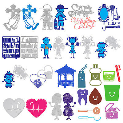 Cute Metal Cutting Die Stencil Scrapbook Paper Card Crafts Embossing DIY Decor