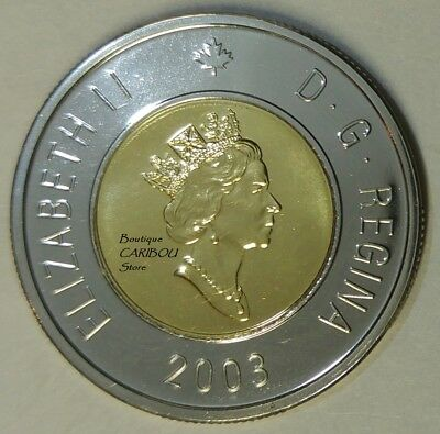 2003 Canada Old Effigy Proof-Like Toonie