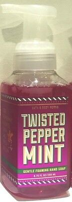 Twisted Peppermint Bath & Body Works Gentle Foaming Hand Soap 8.75 FL OZ