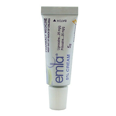 ~ Emla 5% Cream 5G Numbing Balm Ointment Local Anesthetic Pain Relief Tattoo