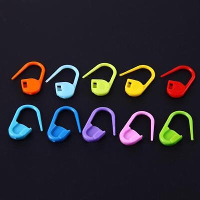 100pcs/Bag Mix Color Knitting Accessories Crochet Locking Stitch Markers Tools