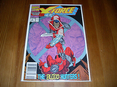 X-Force #2, VF, 1991, 2nd appearance Deadpool, Rob Liefeld