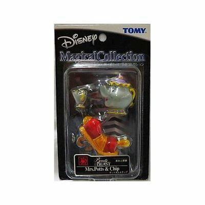 "Disney Tomy Magical Collection 054 ""Beauty and the Beast"" Mrs. Potts & Chip."