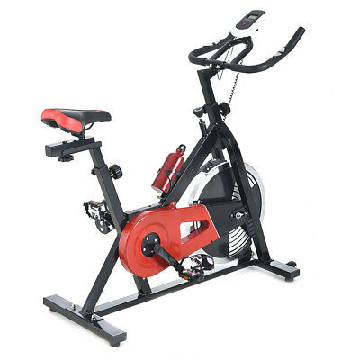 New Heavy Duty W/ 15Kg Flywheel Exercise Bike Home Fitness Gym Cycling Workout
