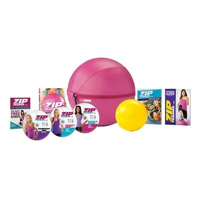 The Firm Zip Trainer Medicine Ball Kit. Brand New