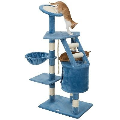 Large Cat Tree For Scratching with Tower Condo Pad Perch Beds hammock Tall Post