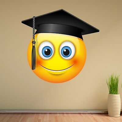 Emoji Smiley Face Character Wall Art Stickers Mural Decal Kids Room Decor BN10