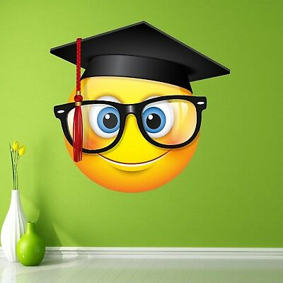 Emoji Smiley Face Character Wall Art Stickers Mural Decal Kids Room Decor BN11