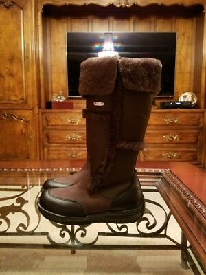 7e4404ef6d1 PAJAR IGLOO MADE in Canada shearling winter boots 6B
