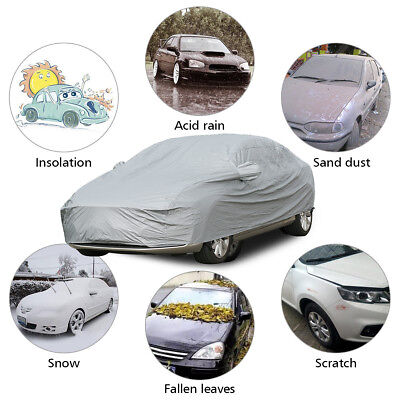 XL Extra Large Full Car Cover 100% Waterproof Breathable UV Protection Outdoor