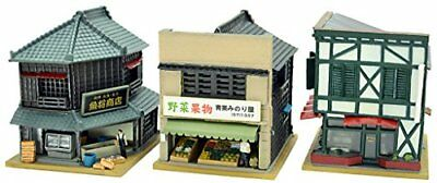 Tomytec TOMIX N Scale Building Collection Ken Kore 130-2 fishmonger, gr... Japan