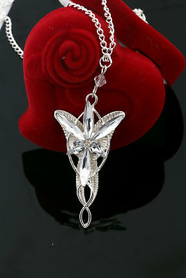 Fashion Jewerly Lord Of The Rings pendant Arwen's Evenstar Necklace Unisex