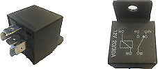 Robinson On / On Change Over Relay Switch 24V 10A / 20A 5 Pin With Bracket Ed007
