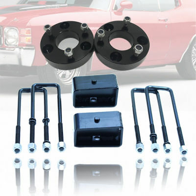 """3"""" Front & 2"""" Rear Leveling Lift Kit Fit 2007-2017 Chevy Silverado GMC 2WD / 4WD"""