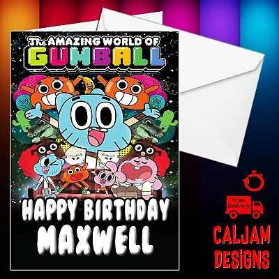 Bing Personalised Birthday Card Son Daughter Grandson Any Text