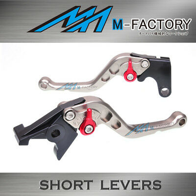 Fit Yamaha TMAX500 01-07 03 04 05 06 Titanium Short Front Rear Brake Levers FSTR