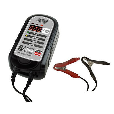 Maypole Battery Charger - 8A - 12V - Electronic Smart (MP7428)