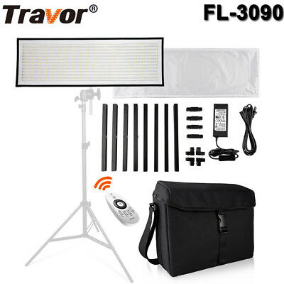 Travor Flexible 576 SMD LED Licht Panel Studio 5500K Dimmbare Fotografie Licht