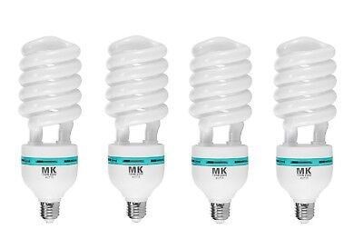 4Pcs Meking 150W 5500K 220V Daylight Lamp Bulb Energy Saving Bulb E27 CFL Lamp