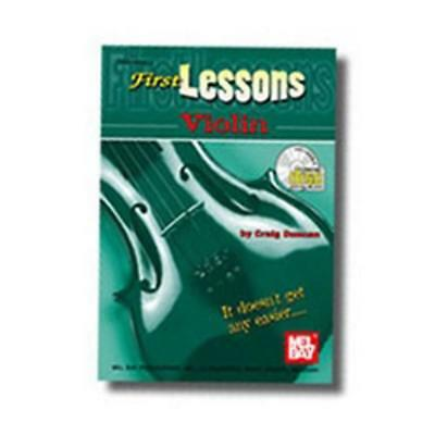 Mel Bay First Lessons Violin Book