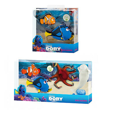 Bullyland Disney Finding Dory Gift Set Toy Figures Kids Cake Topper 2 or 4 Piece