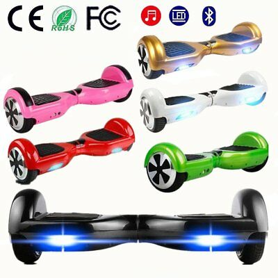 6.5 Inch Hoverboard Overboard Skate Scooter électrique Bluetooth Débutants@RC