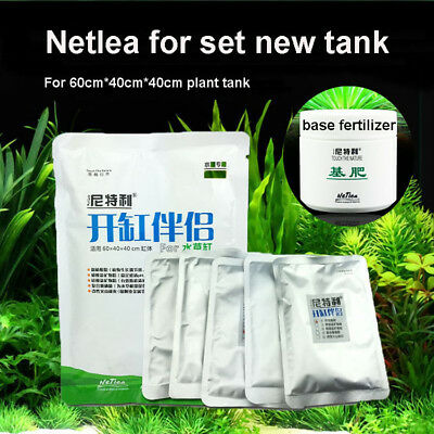 Netlea Open the tank 5 treasure water plant base fertilizer effects such as ADA
