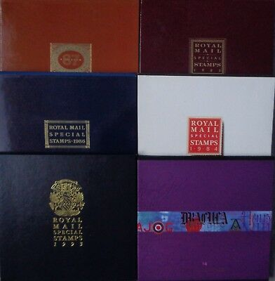 1984-2001 Royal Mail Special Stamps Year Book - Choice of Year All Complete