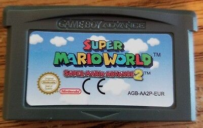 Super Mario World: Super Mario Advance 2 Game Boy Advance GBA