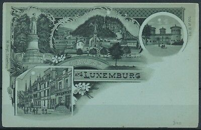 [AI2361] Luxembourg - Gruss aus Luxembourg TB carte postale VOIR PHOTO