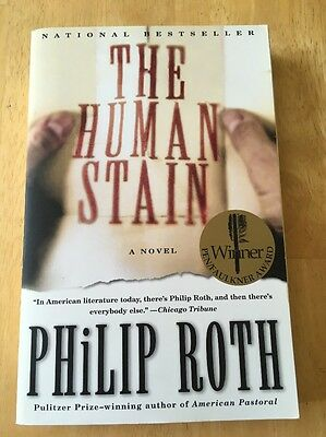 The Human Stain by Philip Roth (2001, Paperback) Very Good