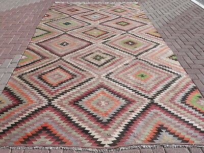 "Anatolia Turkish Classic Antalya Kilim 81,8""x142,9""  Area Rug Kelim Carpet"