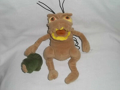 DISNEY STORE Plush P. T. FLEA BEAN BAG A Bugs Life Stuffed Animal Toy