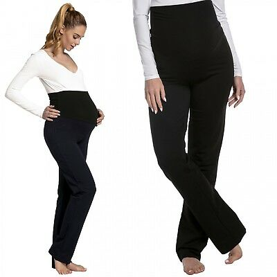 Happy Mama. Women's Maternity Pants. AVAILABLE IN 3 LEG LENGTHS. 006p