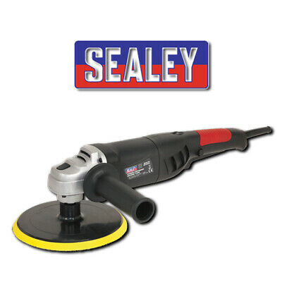 Sealey Polisher Buffer 180Mm 1100W 240V Variable Speed Lightweuight Er1700P
