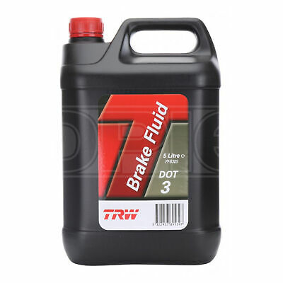 TRW DOT 3 Synthetic Brake Fluid - 5 Litres
