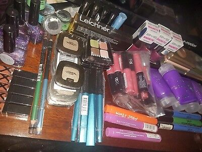 Genuine Cosmetics x10 Job Lot Branded Makeup Eye Lip