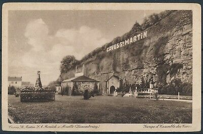 [AI2403] Luxembourg Remich s/ Moselle - Caves St-Martin TB carte postale