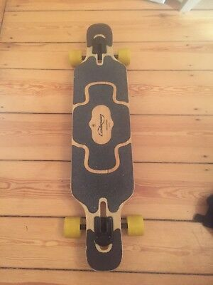 Longboard Loaded Tan Tien, Flex 1, Paris Achsen, Orangatang Rollen