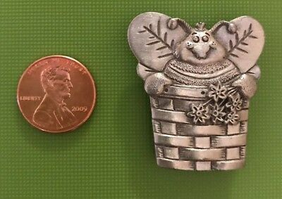 Longaberger Pewter Magnet Bee Basket