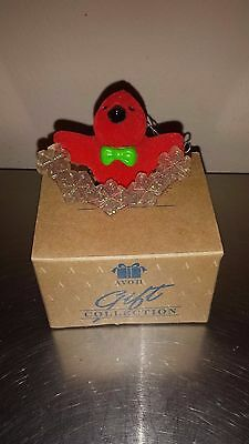 Avon Gift Collection Tree Trimmer Friends Christmas Ornament Cardinal