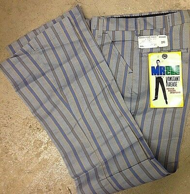 Mr. Dee Cee Bell Bottoms, Old Store Stock, sz. 14, 27X28, Stripes, with Tags