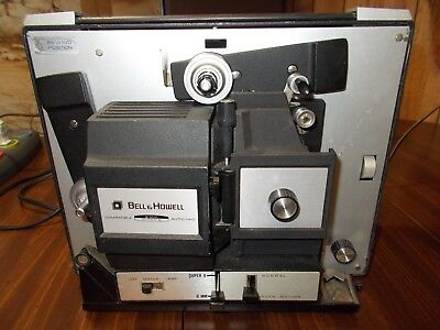 Bell & Howell 481A Super 8mm & Regular 8mm Slow Motion Movie Projector