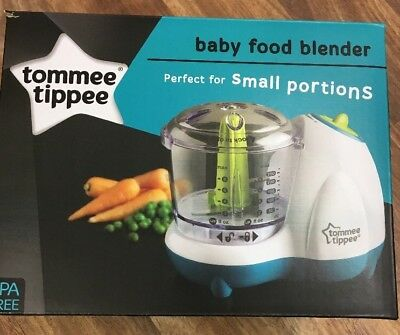Tommee Tippee BABY FOOD blender Processor Electric Baby Handy Brand New Feeding