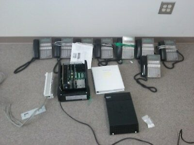 Small Business Phone System NEC DSX-80 (with 8 phones) (excellent working condit