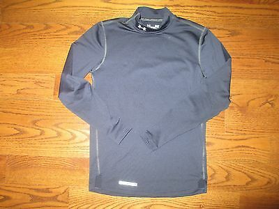 (Small) Men's Under Armour UA ColdGear Fitted Long Sleeve Compression Mock Shirt
