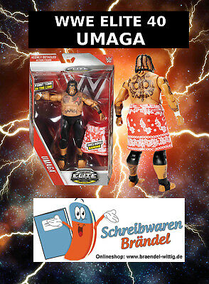 WWE MATTEL Elite Serie 40 UMAGA - Wrestling Action Figur - Basic Elite Figur