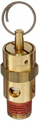 "Relief Valves 150 Psi Set Pressure 1/4"" Male NPT Brass ASME safety with UV NB"