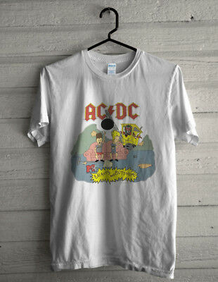 Vtg 1996 Mtv Beavis And Butthead Ac/dc World Tour Concert Promo Shirt L Rare